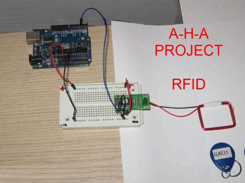 Connecting 125Khz RFID module to arduino – Part 1 – Hardware To Software